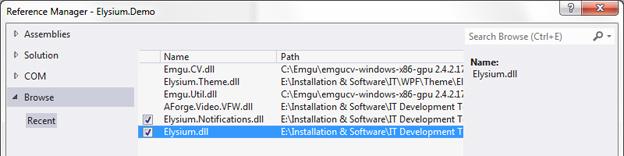 Step 2-1 Install Elysium WPF Metro Controls