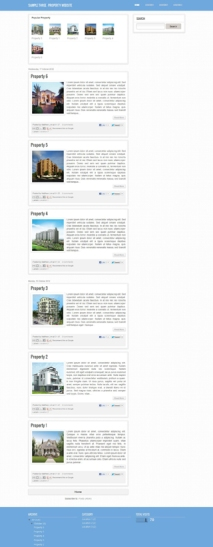 Property Website Design. Affordable. Discount and Promotions