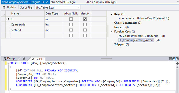 Create SQL Database Using SSDT VS2012 | SamuraiListing Example