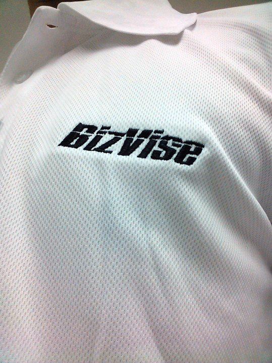 Bizvise T-Shirt. Printed by Tohkyo Print Melaka
