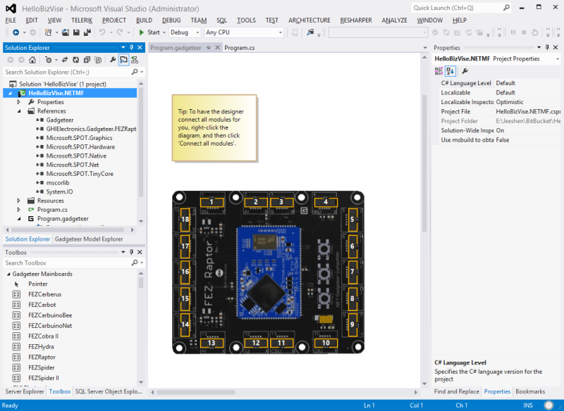 Visual-Studio-NET-Gadgeteer-Project