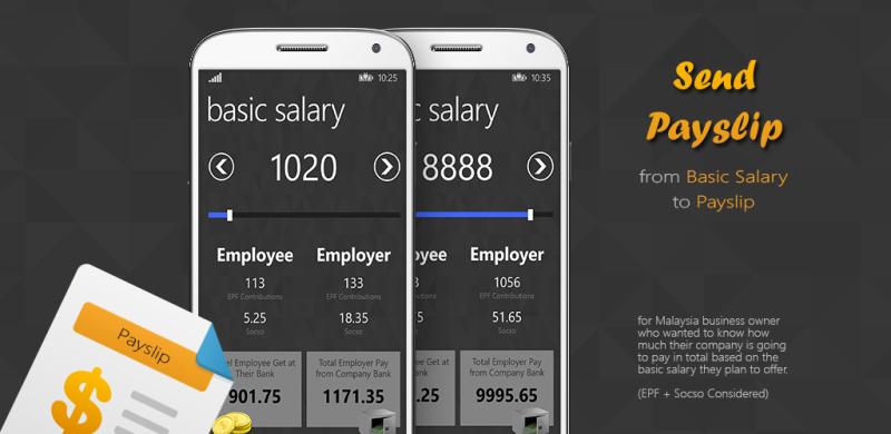 SendPayslip Mobile App Development Melaka